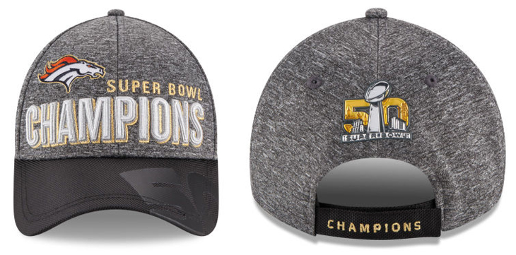 98cd03905 New Era Denver Broncos Super Bowl 50 Champ Cap
