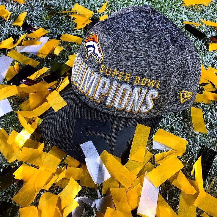 Denver Broncos Super Bowl 50 Champions New Era 9Forty