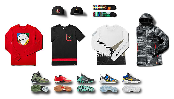 innovative design 6a6ac 7ef2e Nike Basketball All-Star Game Clothing Collection
