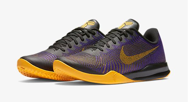 "separation shoes 196f9 0a756 Nike Kobe Mentality 2 ""Fierce Purple Black University Gold"""