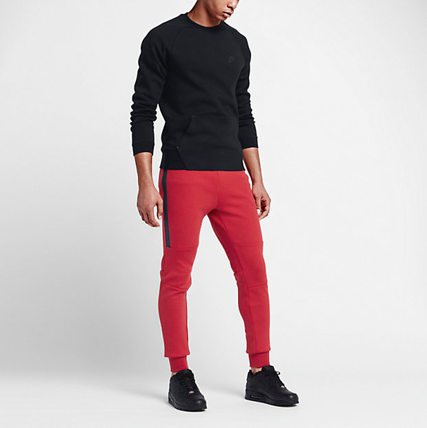 Nike Tech Fleece Pants University Red  4a9f7492d067