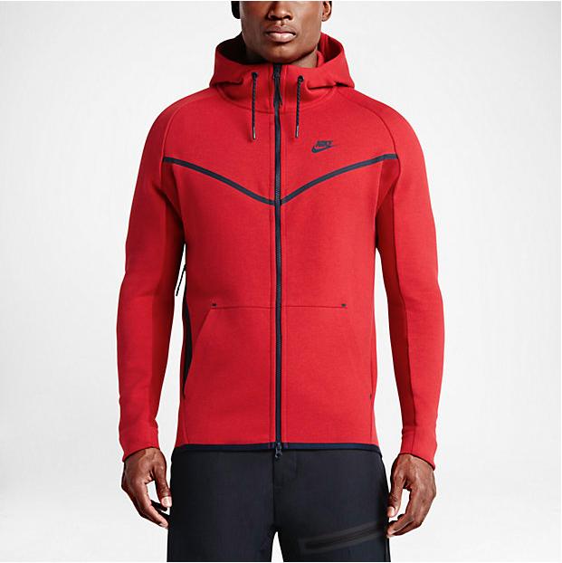 Nike Tech Fleece Clothing In University Red Sportfits Com