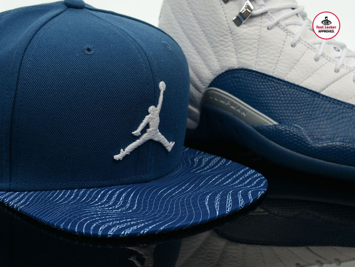 Air Jordan 12 French Blue Apparel at Footlocker  b82b3fa4d32
