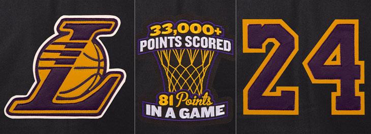 703b1a8cd1dc Kobe Bryant Lakers Commemorative Retirement Jackets