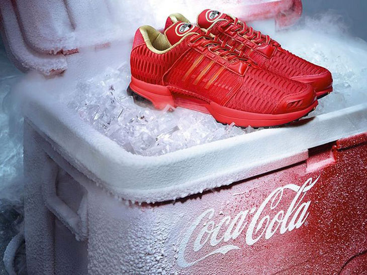 adidas x Coca Cola ClimaCool Sneakers |