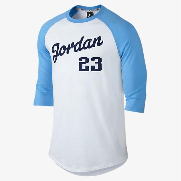 d989534cd2c38e Air Jordan 9 Low Pantone University Blue Shirts