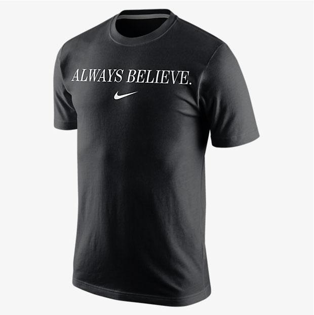 e9f9c6c30 Nike Always Believe Shirt | SportFits.com