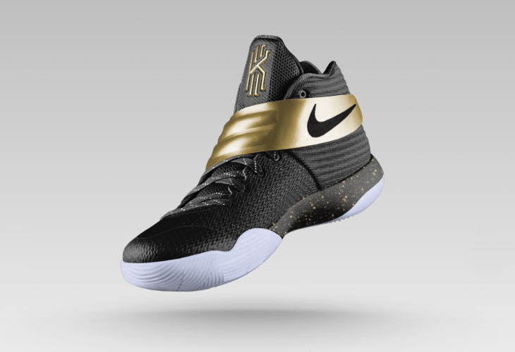 32cc1fb5a04 Nike Kyrie 2 Championship Gold on NIKE iD