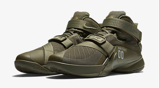 Nike LeBron Soldier 9 Olive   SportFits.com
