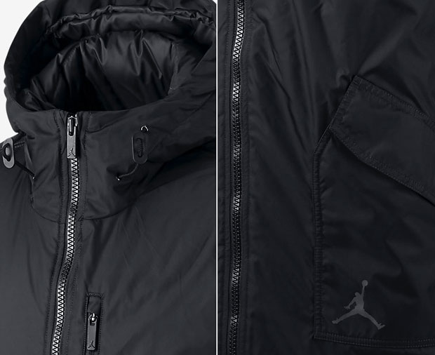 new products 07935 30cbc Jordan Lifestyle Hooded Down Jacket