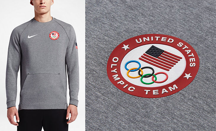 new arrivals olympic team usa pullover hoodie black red