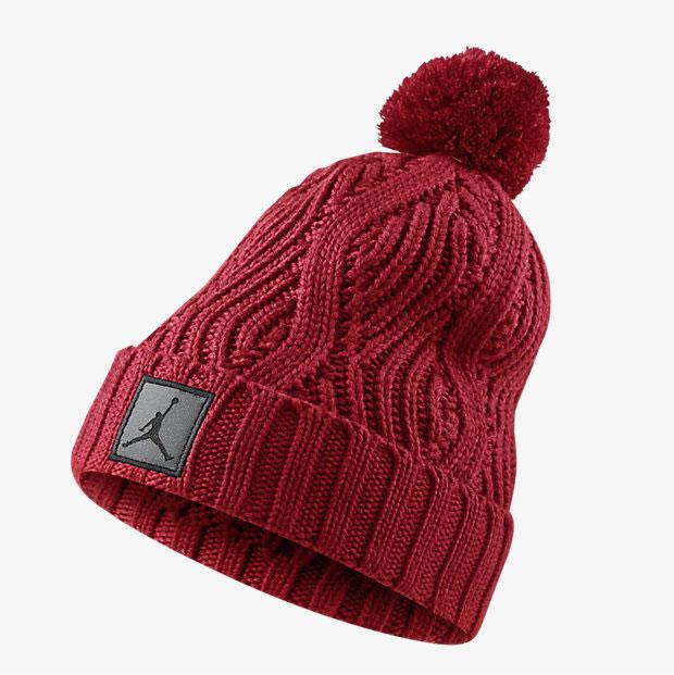 9277c30f8327b3 ... coupon code jordan jumpman pom knit hat red a835e caab6
