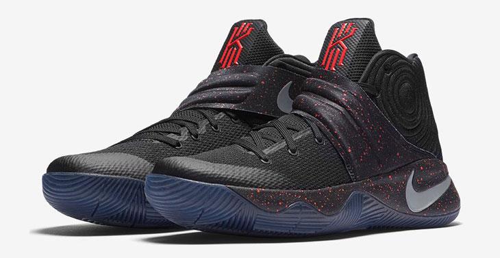 Nike Kyrie 2 Black Bright Crimson