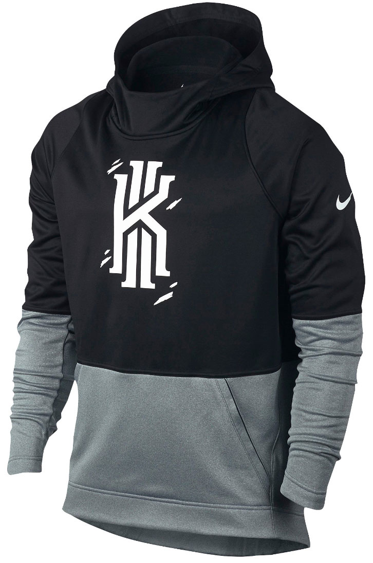 best loved dc602 b7e17 ... discount nike kyrie hyperelite pullover hoodie black 1 9f71a cd6a3