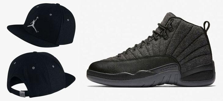 bffe530237a Air Jordan 12 Wool Hat   SportFits.com