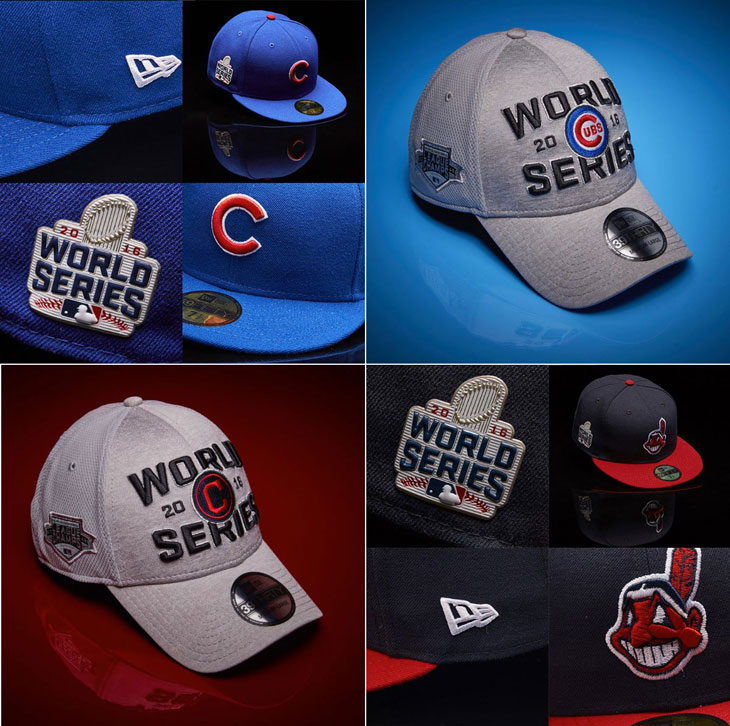 New Era MLB 2016 World Series Caps and Hats  be29078b0ed