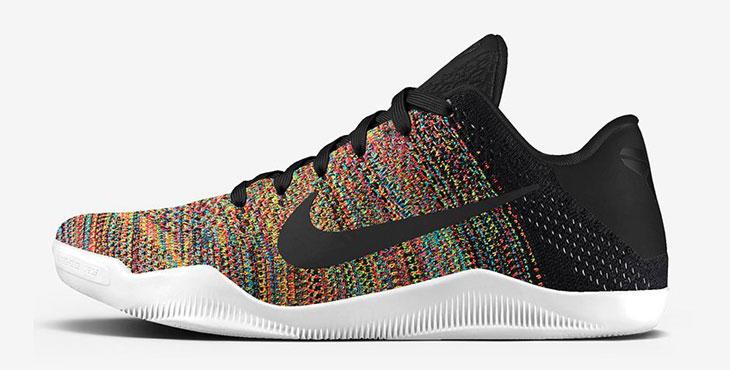 dd525af3c49a Nike Kobe 11 Multicolor Flyknit on NIKE iD