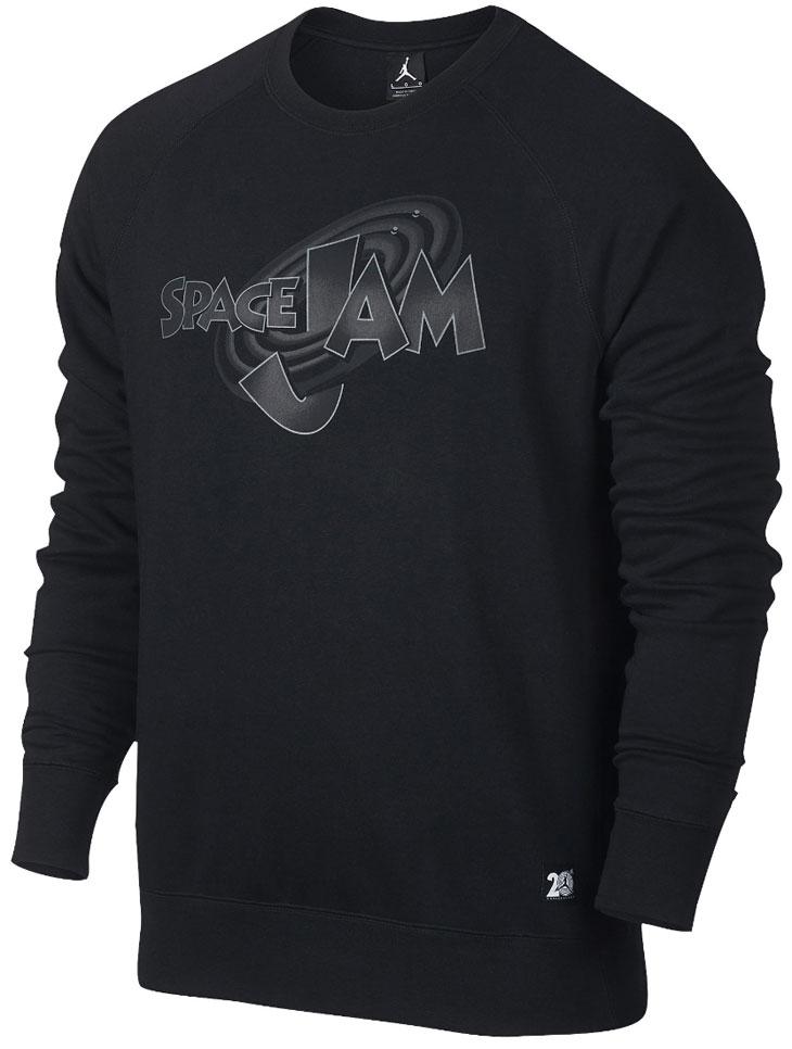 air jordan 11 space jam sweatshirts