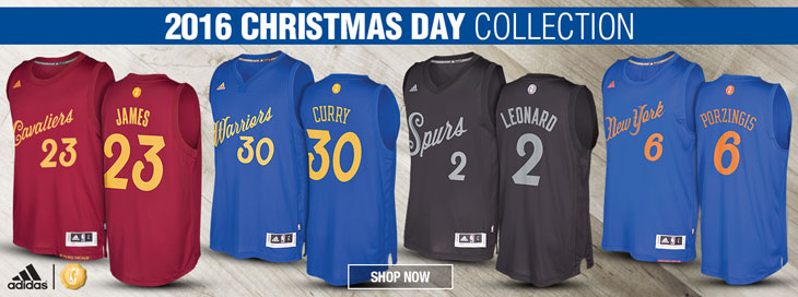 dfd6c87d4 NBA 2016 Christmas Day Collection Now Available at NBA Store ...