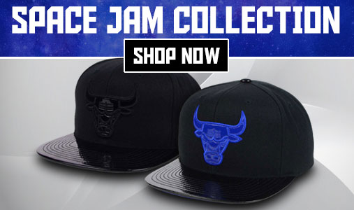 da8fb6af28a Chicago Bulls Space Jam Hat by Mitchell and Ness
