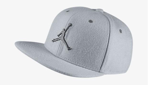 5a7a8152ce9 Jordan Wool Hat Wolf Grey   SportFits.com