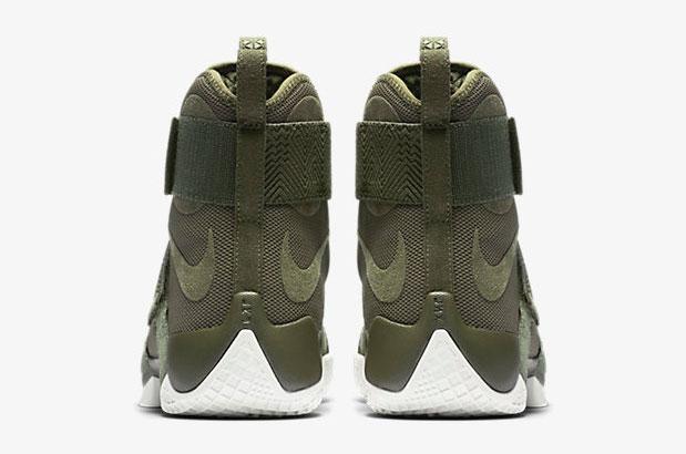 Nike LeBron Soldier 10 Lux Cargo Khaki Green  3f25b6e48648