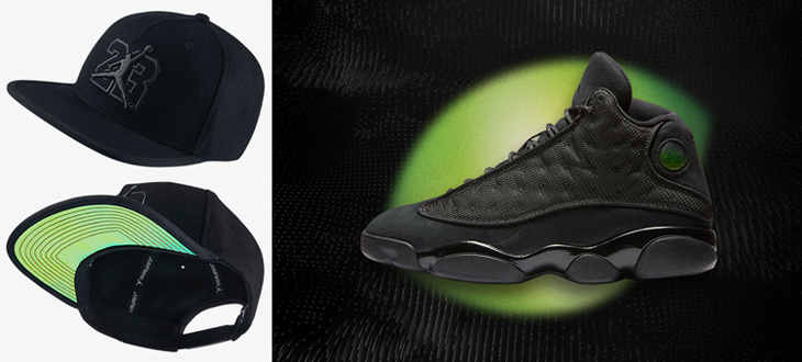Air Jordan 13 Black Cat Hat  30045e8e85f