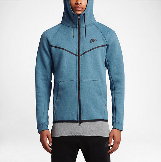 Nike Sportswear Tech Fleece Windrunner Hoodie Smokey Blue ... 3e1e01cba3eb