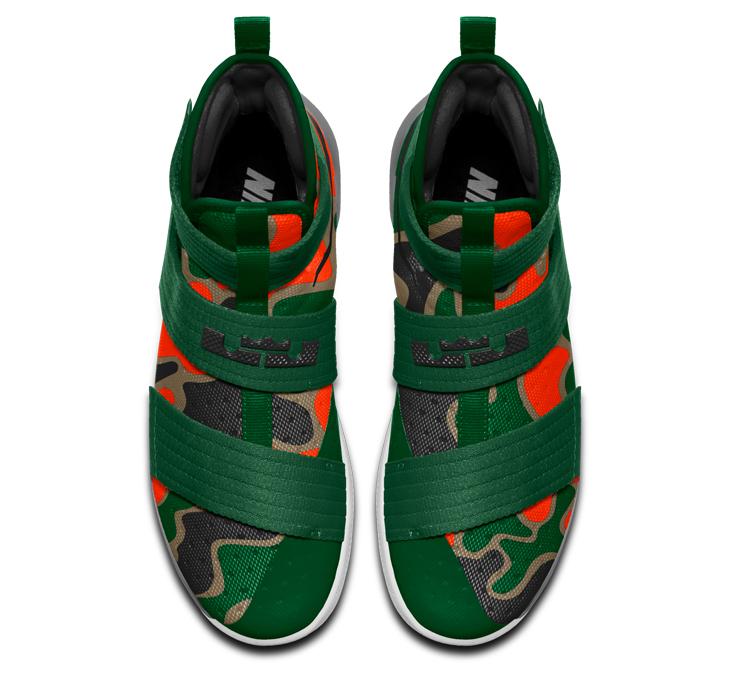 48e586d248c ... czech nike lebron soldier 10 orange green camo 4 8e23e eabed