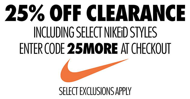 Nike Store Clearance Sale March 2017  efe08bd05