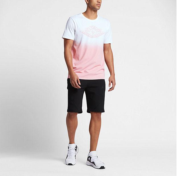 83c88e21f63 Jordan Faded Fadeaway T Shirt | SportFits.com