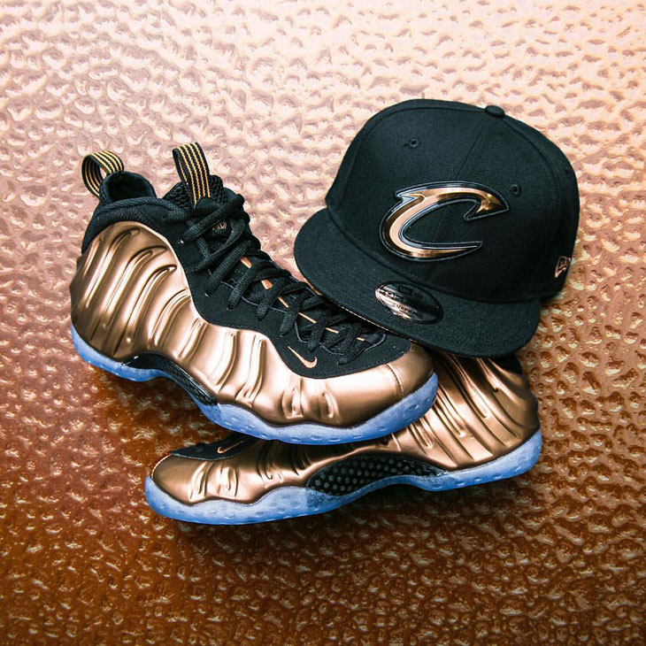 "fa3de85dbdb New Era Cavaliers Hat to Match the Nike Air Foamposite One ""Copper"""