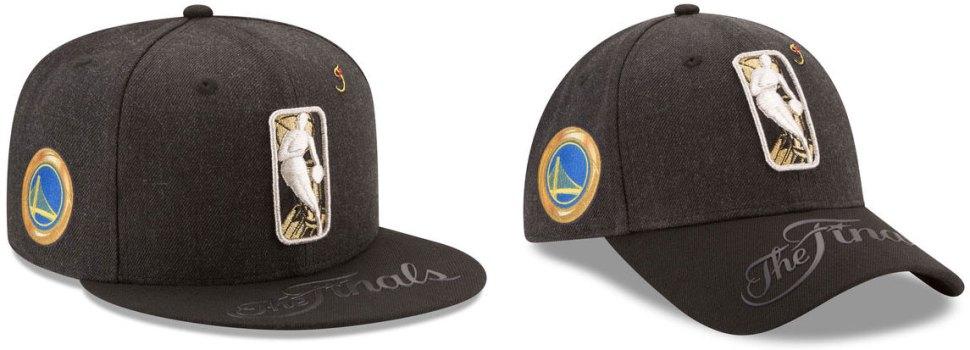 3695d024149 New Era Golden State Warriors 2017 NBA Finals Bound Caps