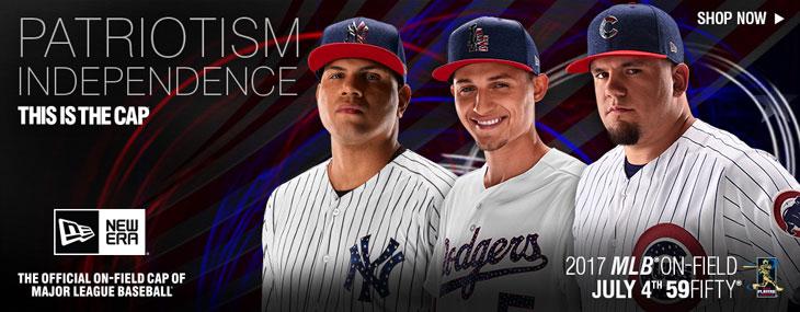 5eeed9b8e2e New Era MLB 2017 4th of July Hats