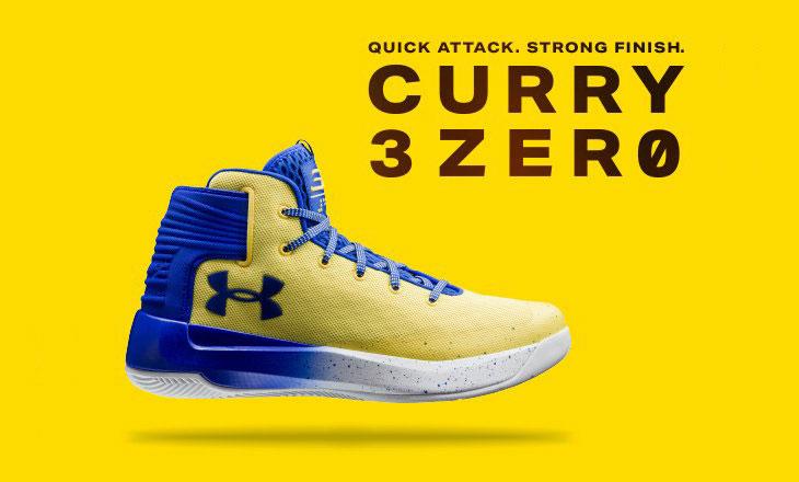 under armour curry 3 zero