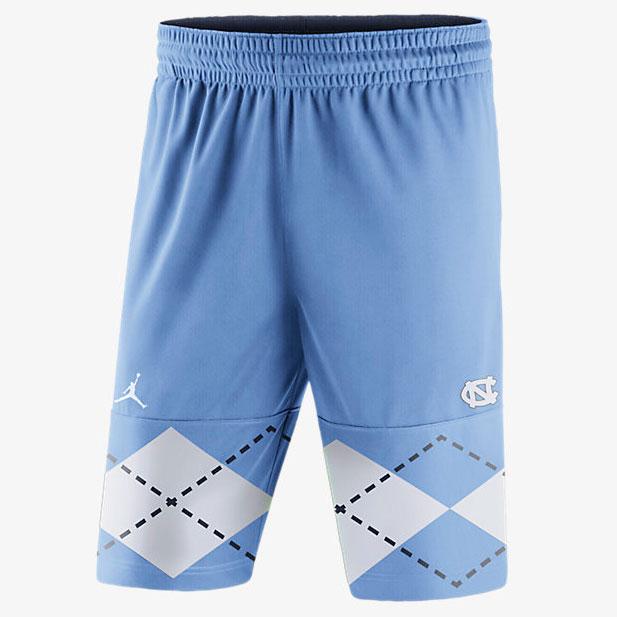 7d2c705a70f1 Jordan UNC College Blockout Shorts