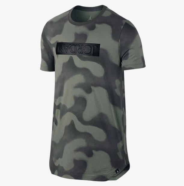 9cbc6075166451 Air Jordan 5 Camo T-Shirt