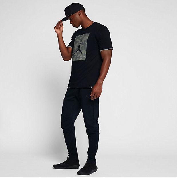 wholesale dealer e23f2 83b71 jordan-5-camo-p51-jumpman-shirt-black-2