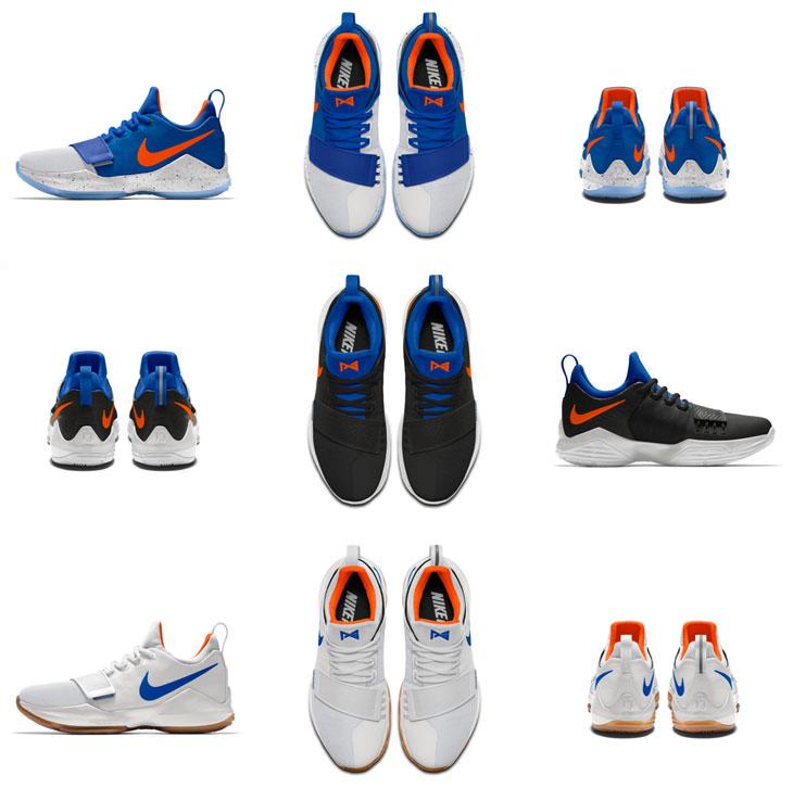 8ae09772c204 Nike PG 1 OKC Colorways on NIKEiD