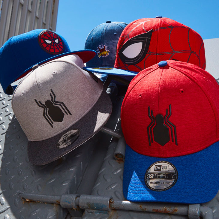 699848caa2f New Era Spider-Man Homecoming Hats