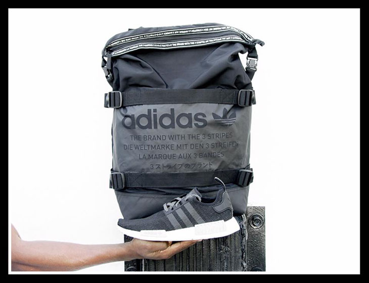 adidas NMD Black Reflective Backpack Match |