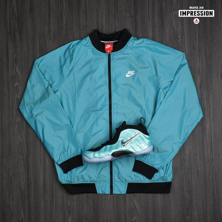 ab6b04fa613 Nike Foamposite Island Green Clothing