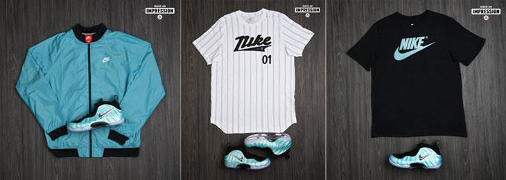 "088e5a89776 Sneaker Match  Nike Air Foamposite Pro ""Island Green"" Apparel Hook-Ups"