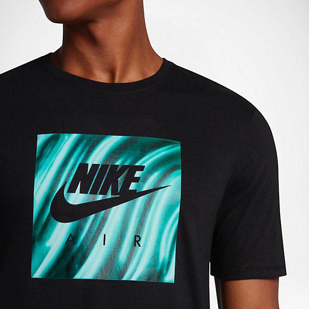 bebfa28241c ... Match Collection  nike-air-foamposite-island-green-shirt-2 ...