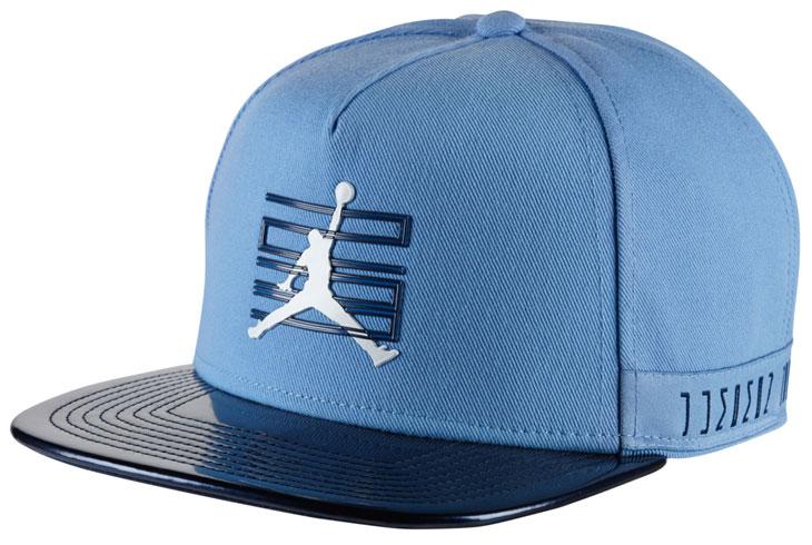 449044b3712 Air Jordan 11 UNC Snapback Hat | SportFits.com