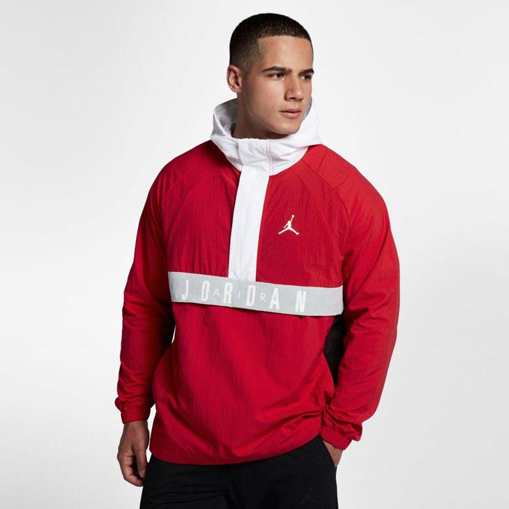 5c2c31bed93b Jordan Wings Anorak Jacket (University Red White Black)
