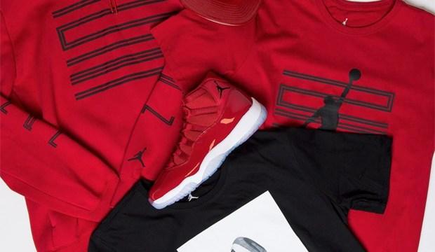 "46536fba5aa4ba Air Jordan 11 ""Win Like  96"" Collection at Champs Sports"