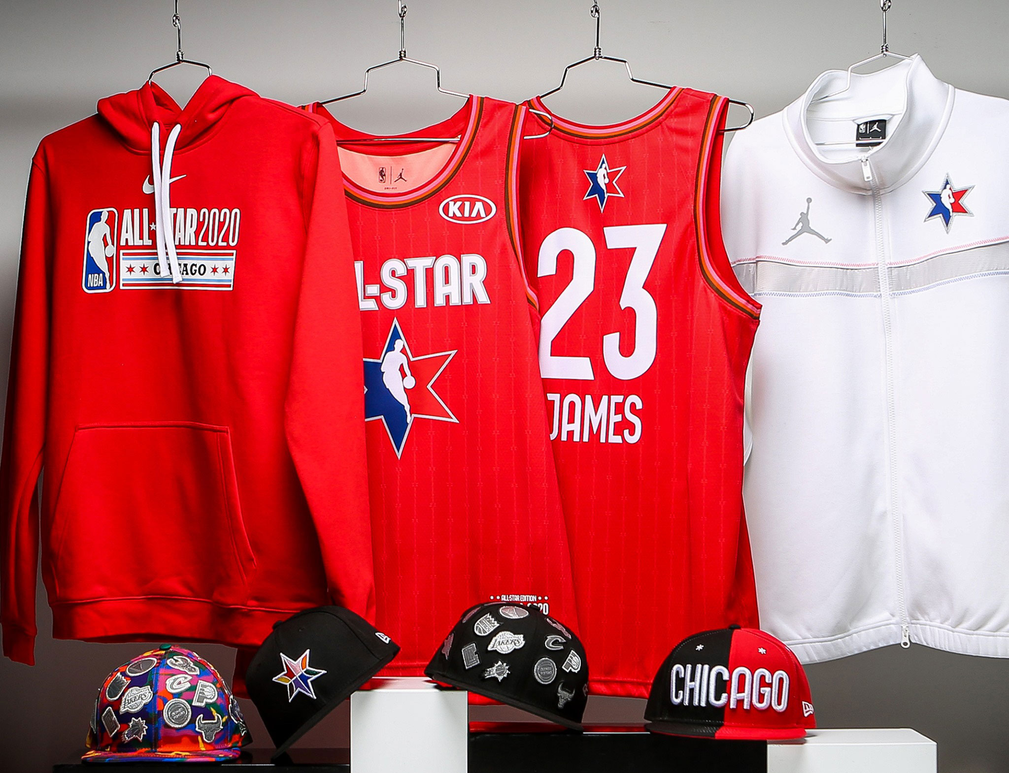 2020 NBA All Star Game Apparel and Hats