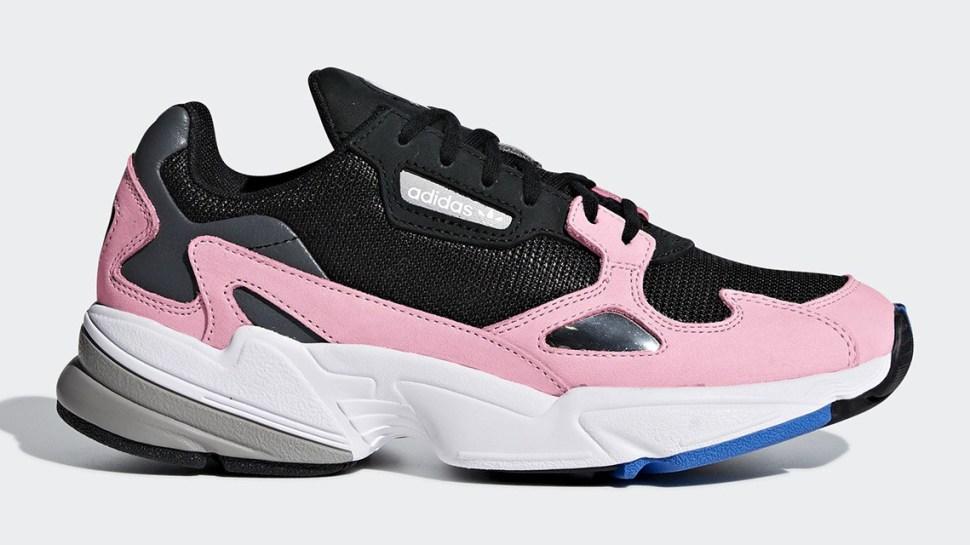 0b46e69126650 Kylie Jenner in adidas Originals Falcons Shoe