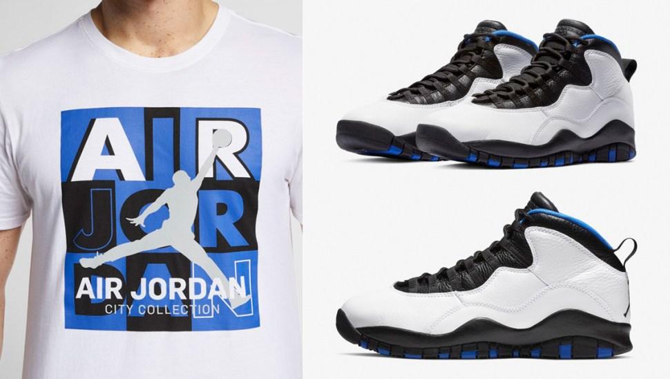 new products e8d2c 4202c Air Jordan 10 Orlando Clothing and Gear | SportFits.com